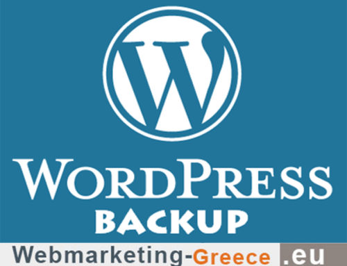 How to WordPress site Backup